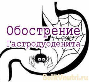 Симптомы и лечение гастродуоденита